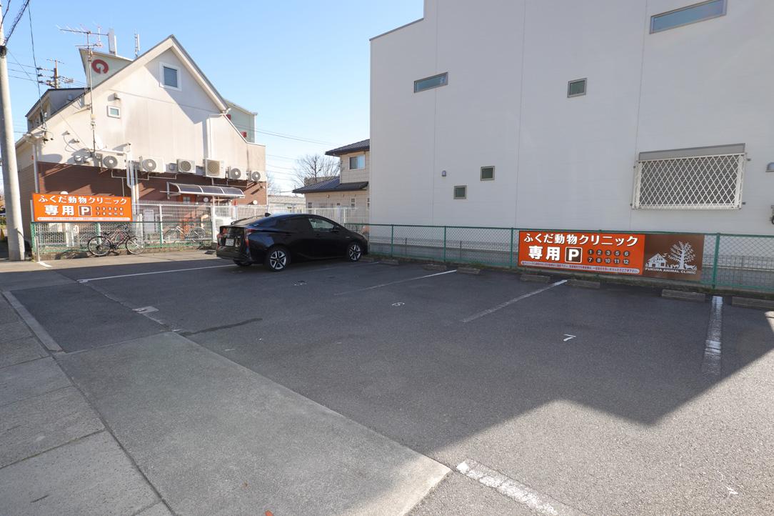 土曜・日曜・祝日も診察 駐車場完備